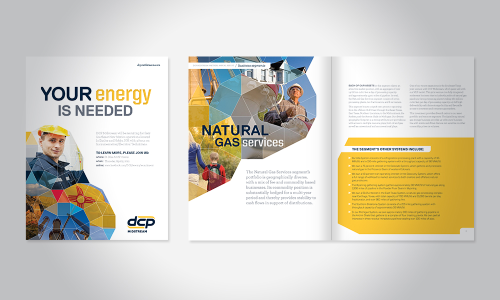 Ad & Annual Report Samples