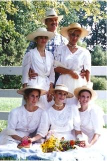 Mike DeArmond's five daughters