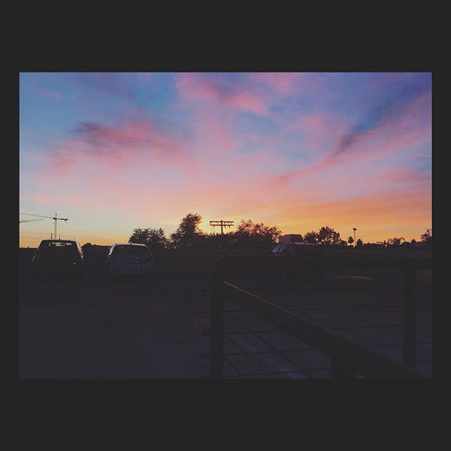 Cotton candy sky last week. #sunset #losangeles #california #inspiring