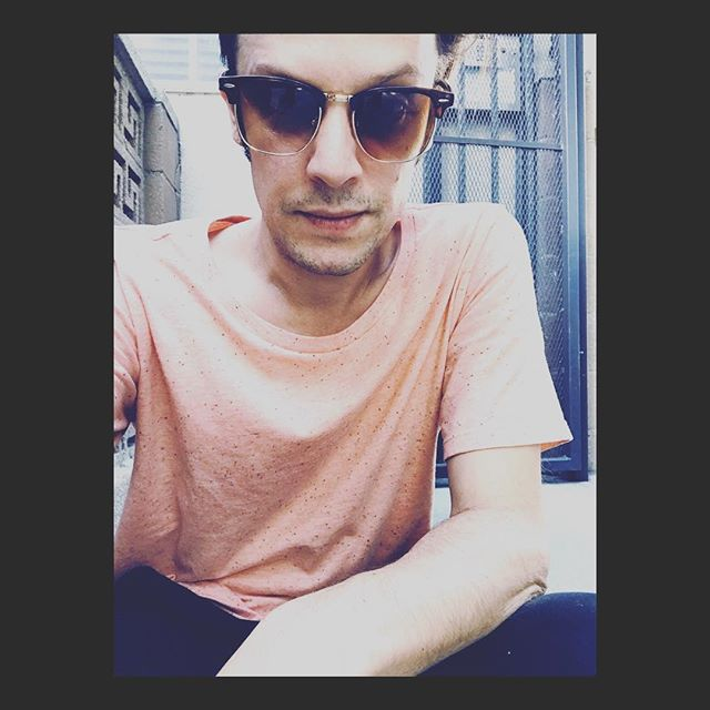Birthday cake shirt selfie. Am I modern yet? #selfie #losangeles #electronicmusic #sunny #dayoff #freetime #spring