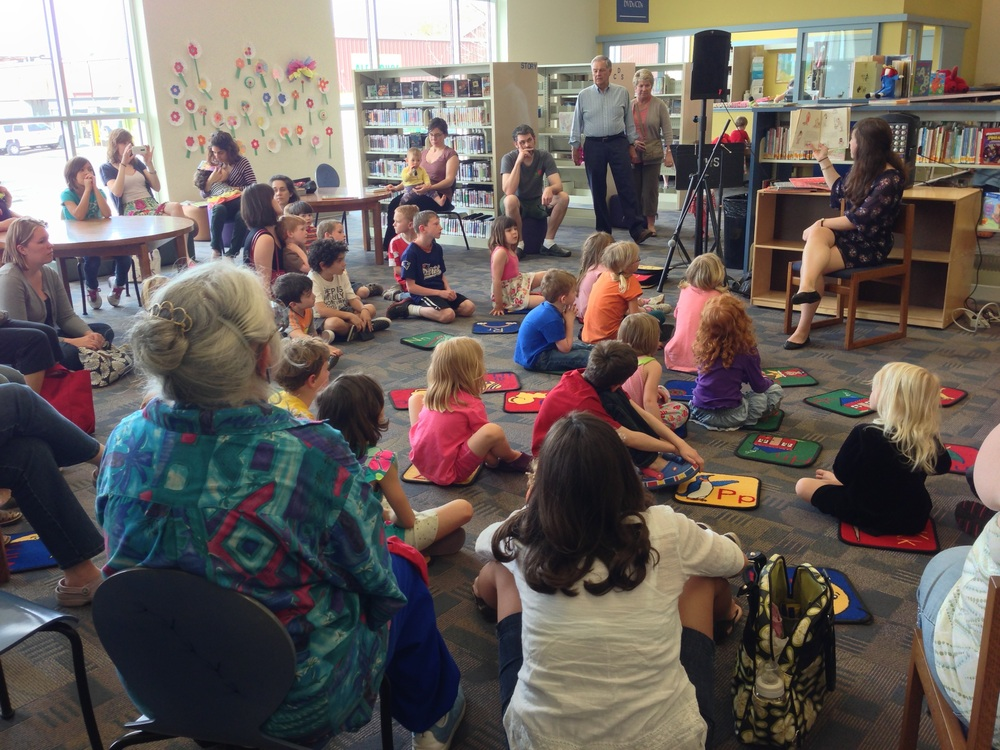 Storytime at the Walla Walla Public Library in 2013