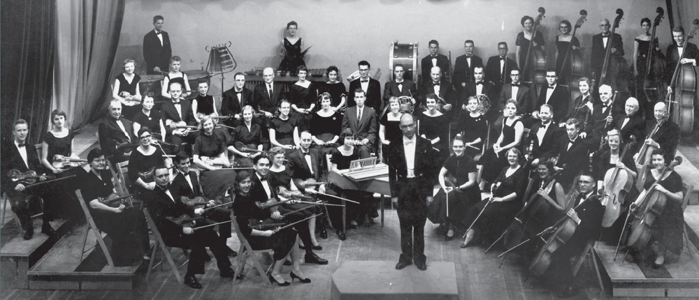 Walla Walla Symphony with conductor William Berry, 1951