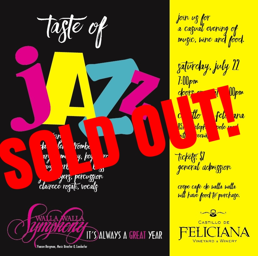 Special Event Taste Of Jazz Walla Symphony