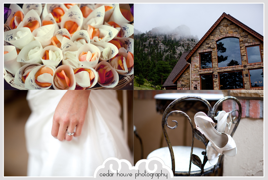estes park wedding photographer, denver wedding photographer, della terra wedding photographer, della terra mountain chateau
