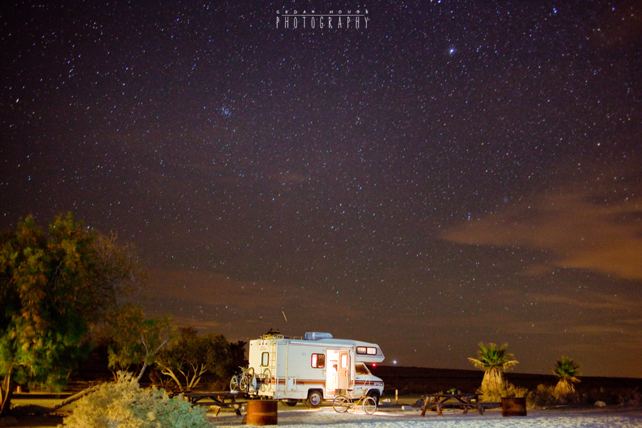 salton sea, long exposures, night photography, galaxy photography, desert at night, salton sea photographer