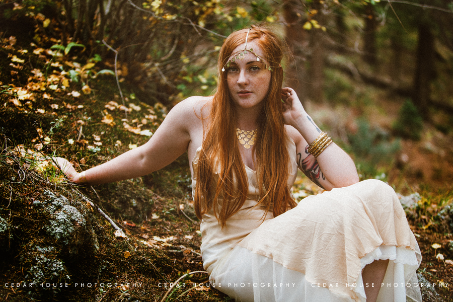 boulder fashion photography, boulder editorial photography, boulder senior portraits, boulder senior pictures, boulder senior photographer, forest portraits, portraits in the woods, fashion portraits, fairytale inspired, golden tattoos, golden portraits, redhead portraits