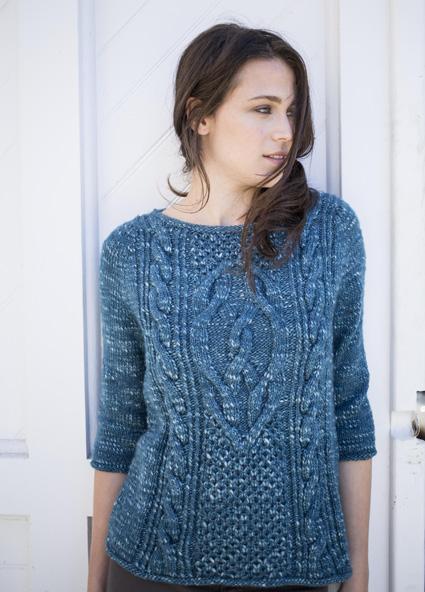 Lempster, free pattern on Knitty – photo linked to pattern