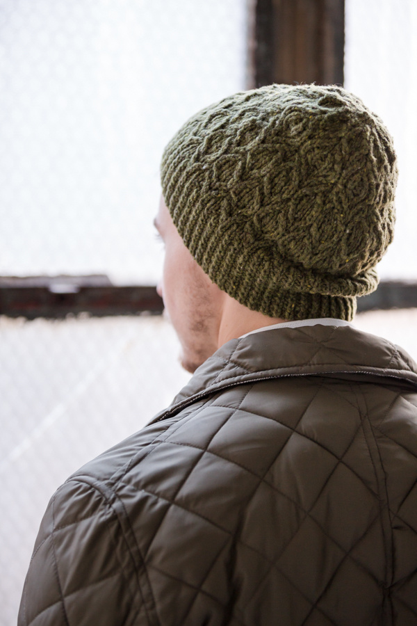 Snare by Norah Gaughan     Brooklyn Tweed Men 2