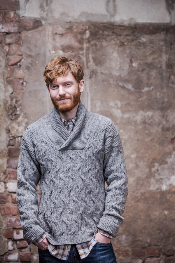 Jackdaw by Norah Gaughan     Brooklyn Tweed Men 2