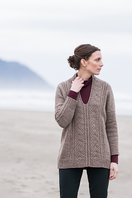 Larus by Norah Gaughan  Brooklyn Tweed Ganseys
