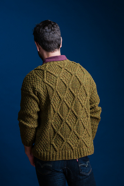 Mohr (his) by Norah Gaughan  Brooklyn Tweed fall 2016