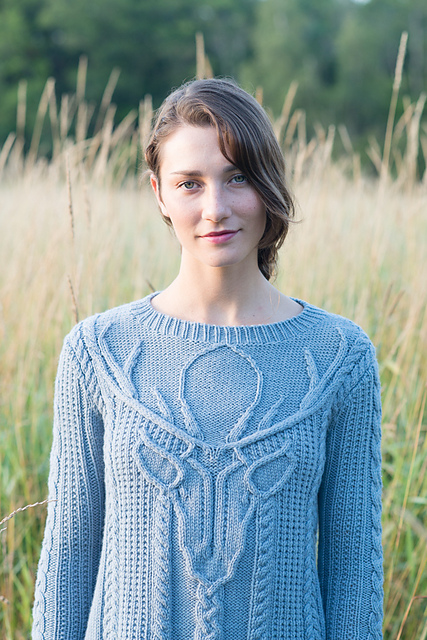 Staghead Pullover from Making No2:Fauna   buy PDF