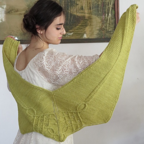 Mullaney small shawl  now available as a PDF  buy