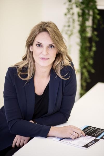Caroline Fossto, VD för Städarna i Göteborg.