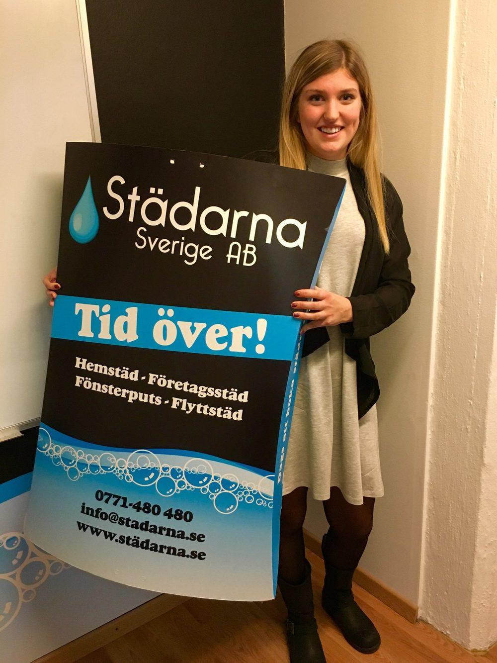 Ebba Bauer Zetterblom, VD Städarna i Katrineholm AB