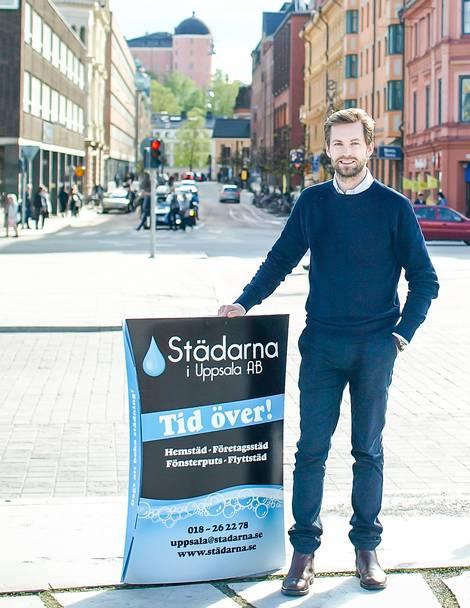 Lukaz Berg,VD - Städarna i Uppsala och Enköping AB