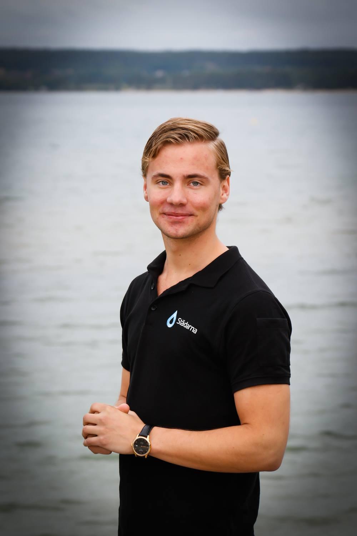 Filip Printzell, VD Städarna i Mjölby,Foto: Bergstens bilder