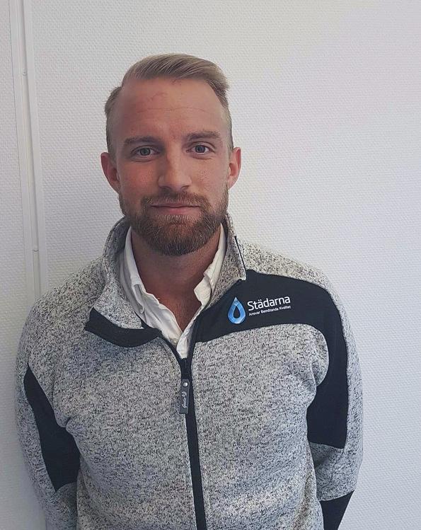 Christoffer Hallafors, VD, delägare -Städarna i Örebro