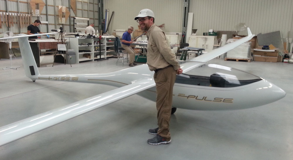 Taking my first look at the GP in the Peszke workshop - August 2014