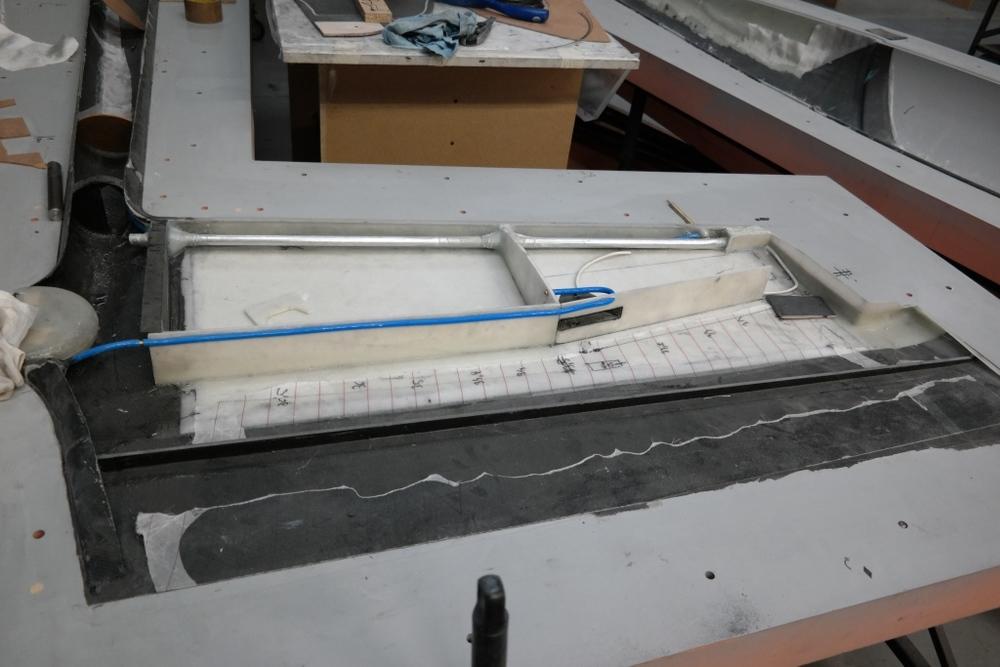 Inside of GP 14 vertical stabilizer
