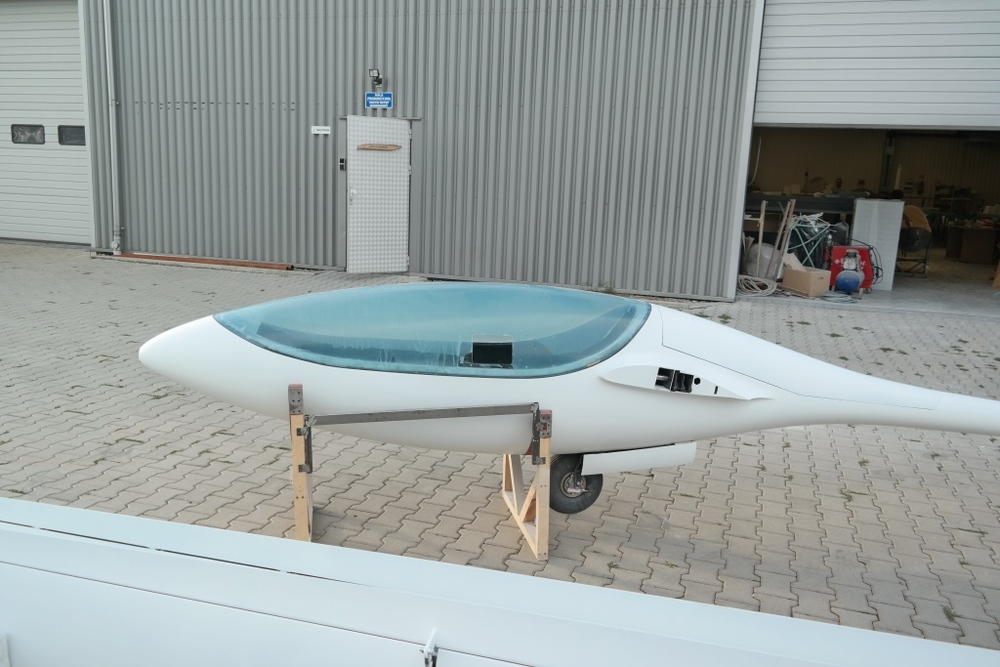 GP 14 fuselage