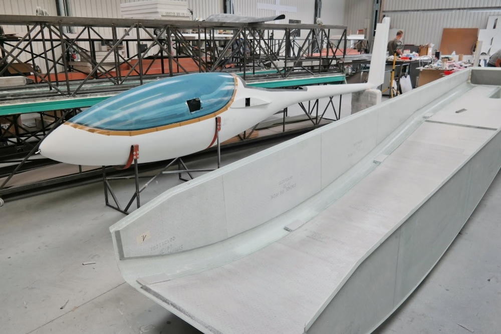 GP 14 Velo and trailer under construction