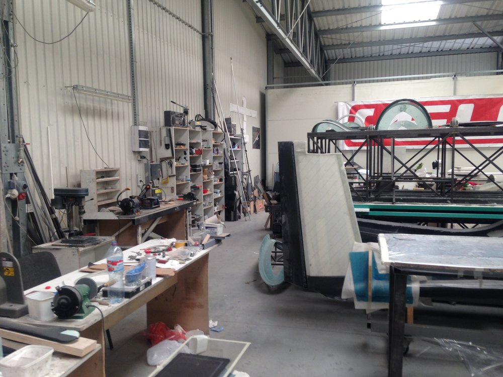 GP Gliders Crowded Workspace