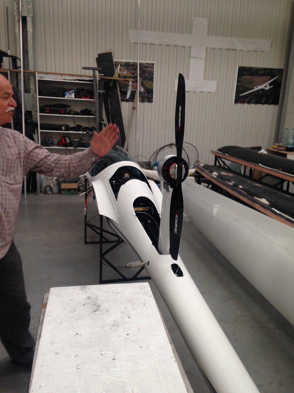 Grzegorz Peszke explains details of gettingthe thrust line correct