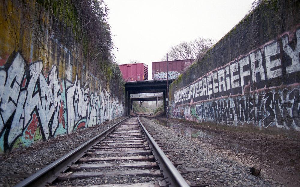 Portland Graffiti | PDX Graffiti | Tien Austin | Film Photography