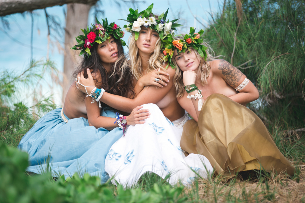 lotus and lime, girls, photography, hawaii, beach, dreamy, magical, mystical