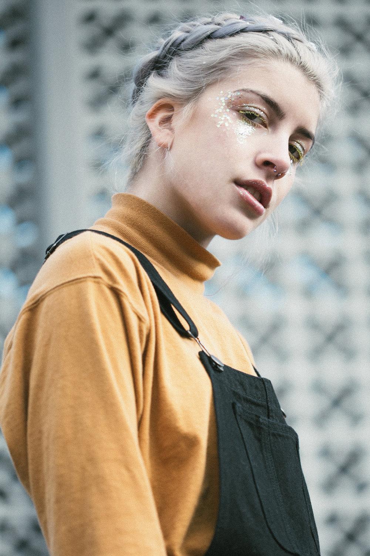 Model: Cyan { @femaledreamboat }  Makeup Artist: Morgan Roberts { @cosmicstylist }