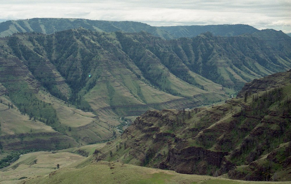 Hells Canyon || Oregon || 35mm film || Tien Austin Photography