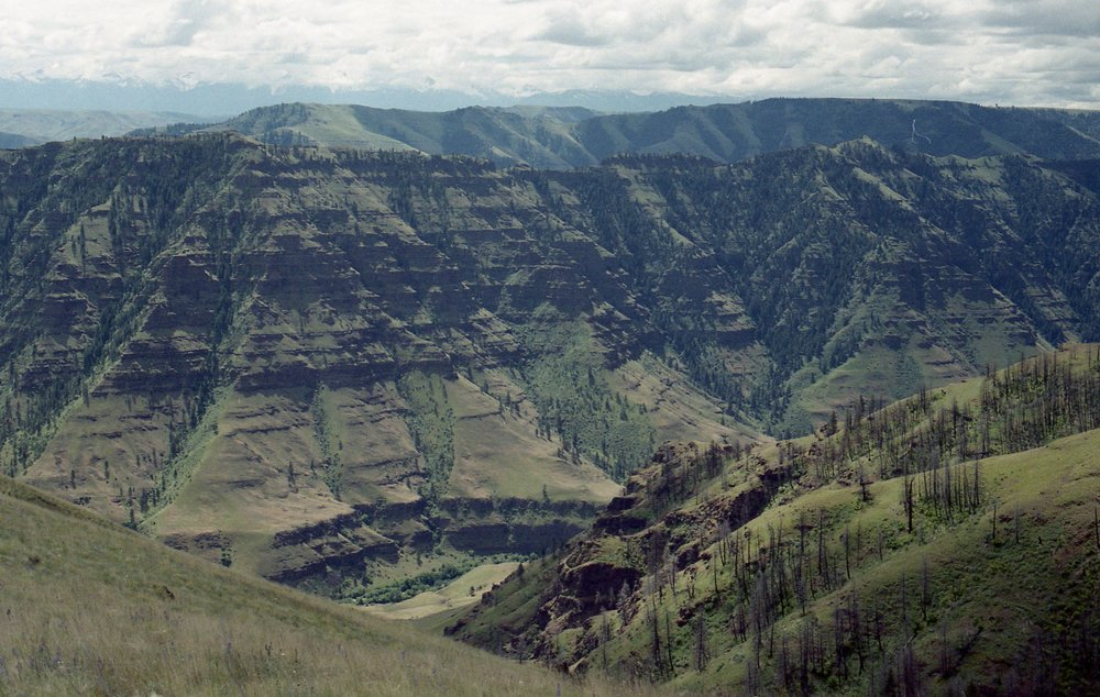 Hells Canyon || 35mm film || Tien Austin Photography || Eastern Oregon