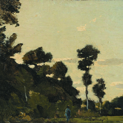 "Harpignies - ""Landscape near Clisson"""