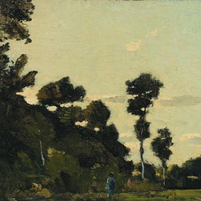 """Harpignies - """"Landscape near Clisson"""""""