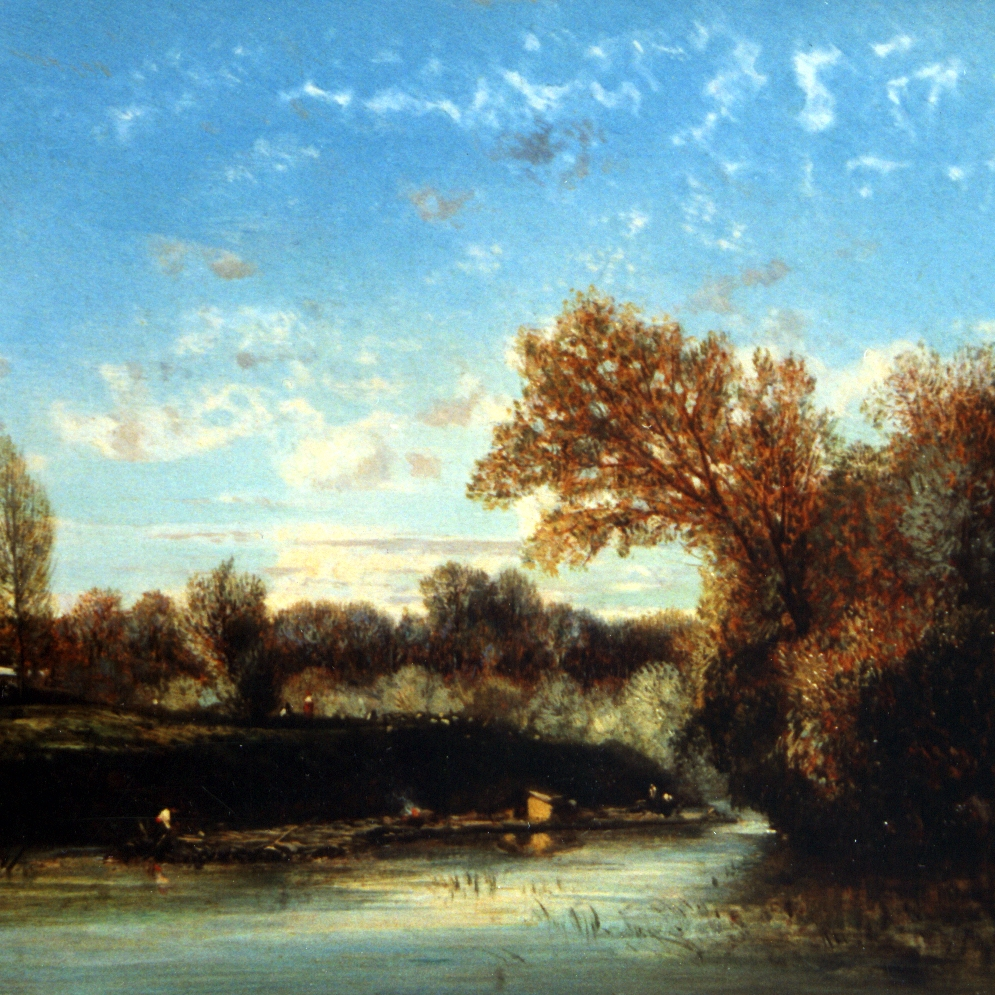 "Flers - ""Pastoral with Horses"""