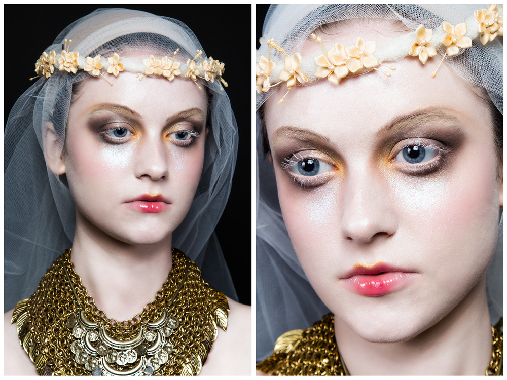 Recreation of Pat McGrath Runway make up ( John Galliano FW 09/10)