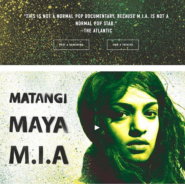 MIA opens in Philadelphia this weekend! Have at it!