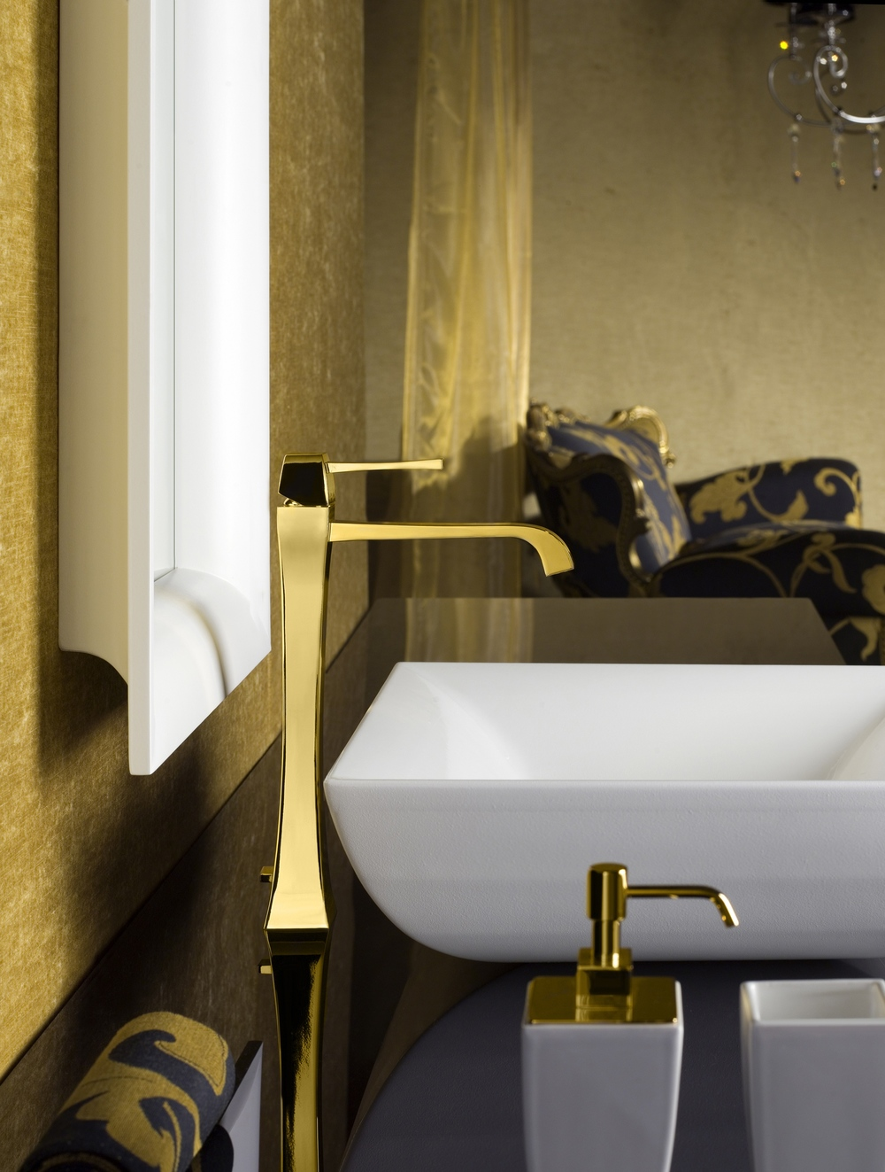 Gessi MIMI 24K Gold Plated Faucet
