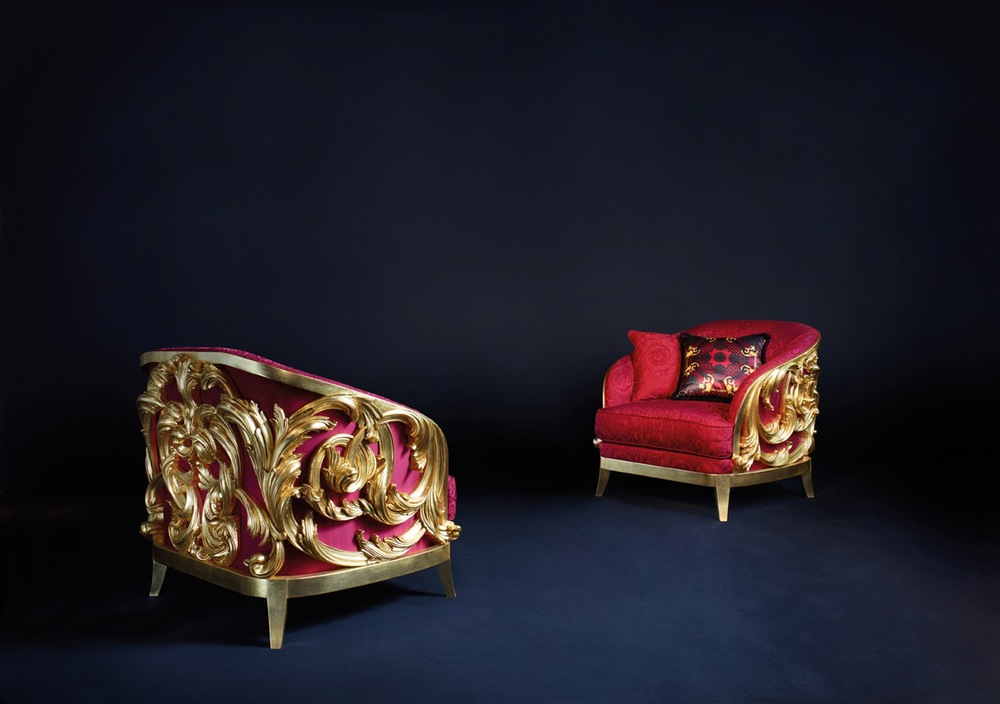 Acanthus Armchairs