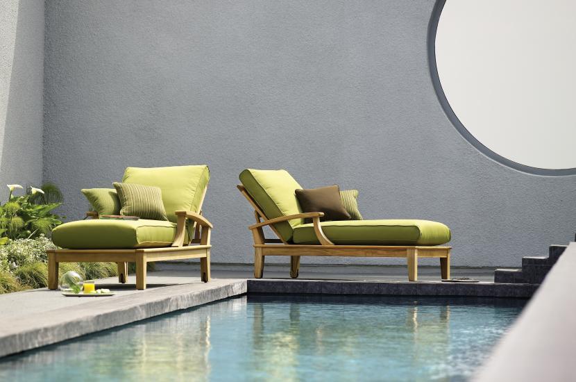 天然材质和大地色系让家中充满美丽的自然之风。At  gloster.com  .