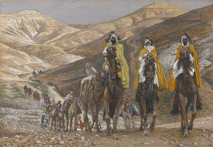 The Magi Journeying by James Tissot c.1890