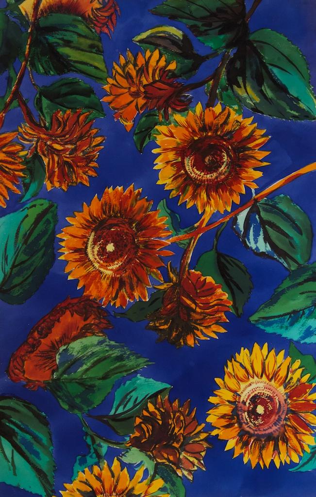Sunflower Watercolors