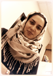 Zahra Dehghani, MS in Cell and Molecular Biology, 2014.