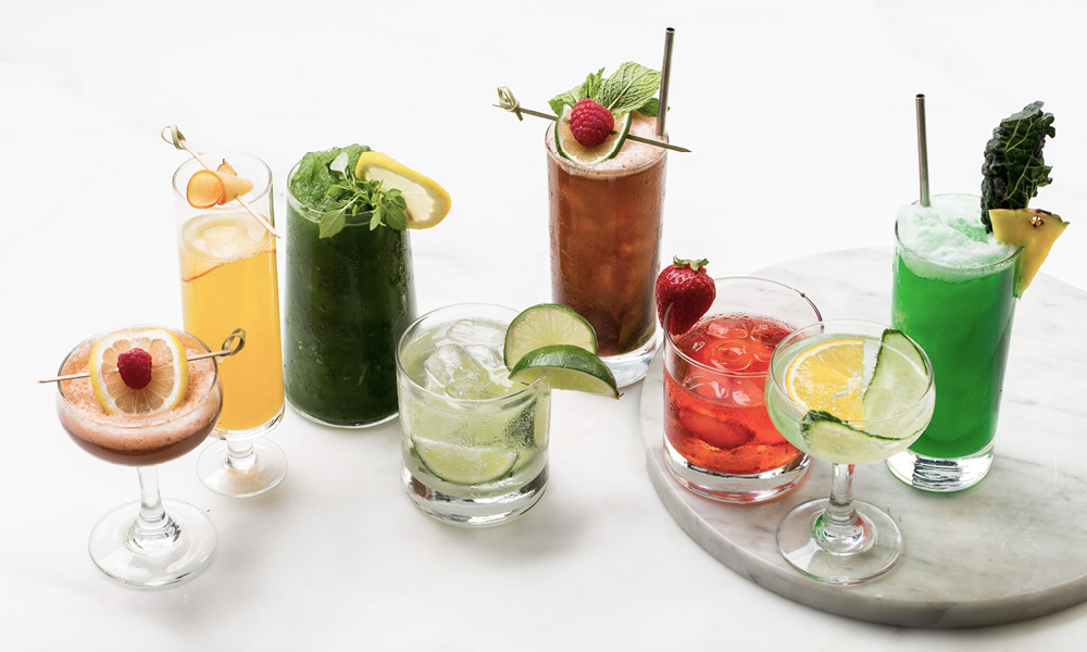 Assorted Summer Cocktails
