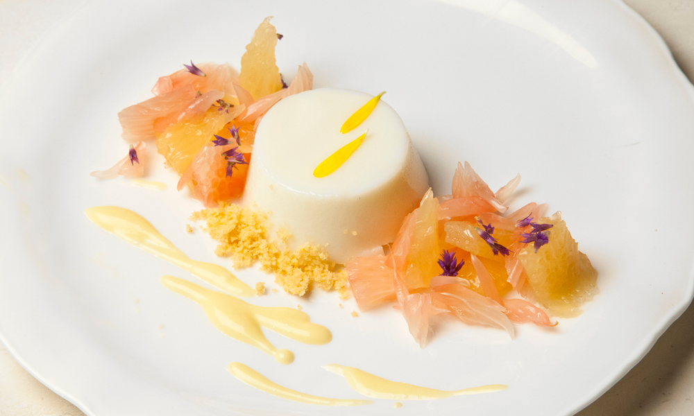 Seasonal Panna Cotta, Citrus