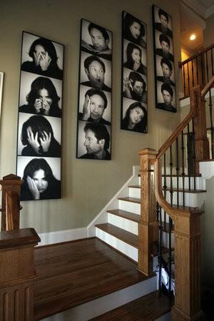 stairway wall gallery utah photographer