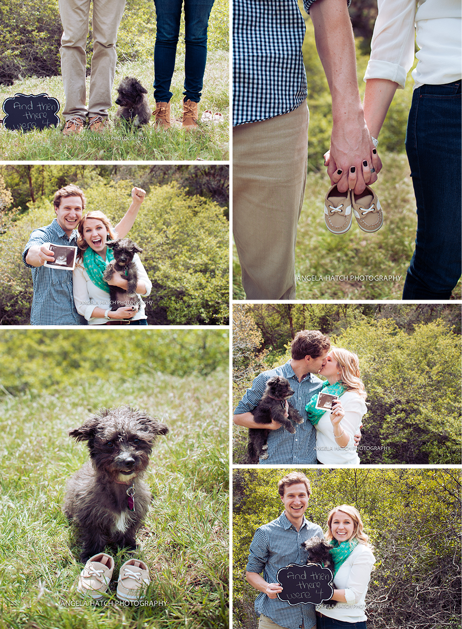 Utah Creative Pregnancy Announcements | Angela Hatch Photography