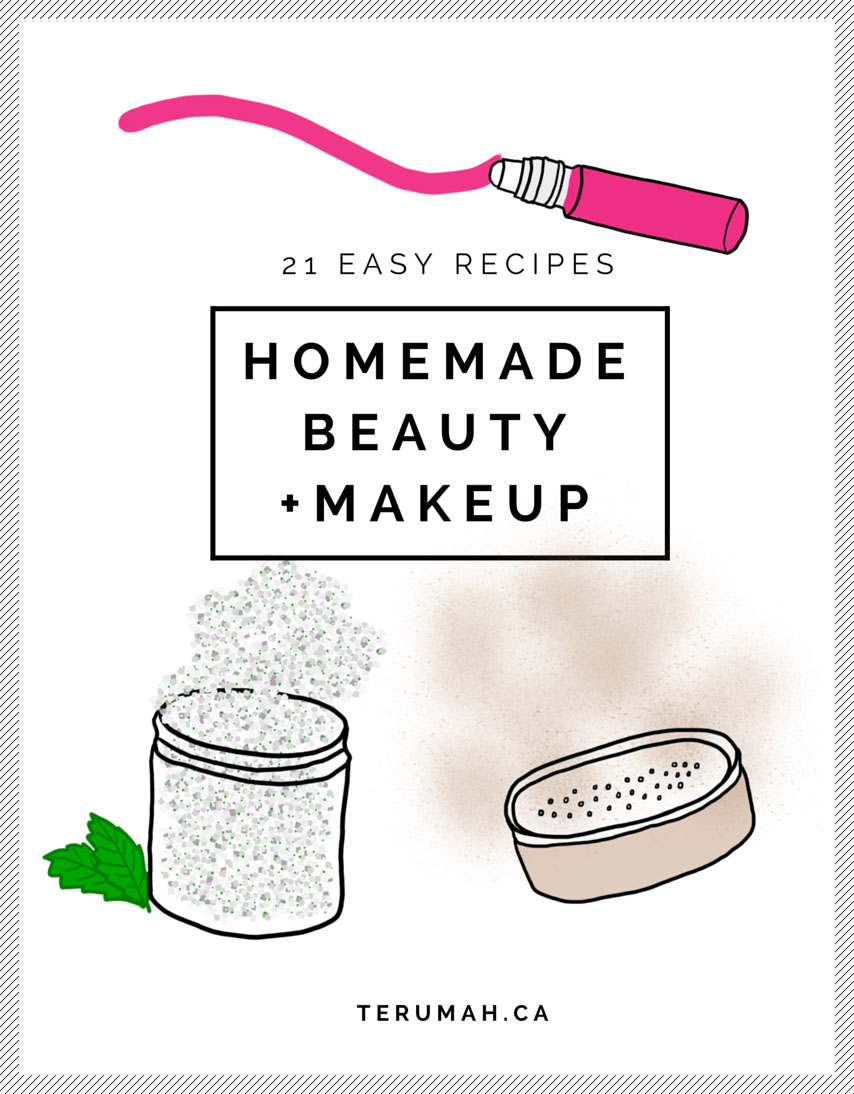 Annie Zhu, 21 Easy Homemade Beauty + Makeup Recipes Download a free ebook to start making your own natural makeup and beauty products. It's easier than you think.