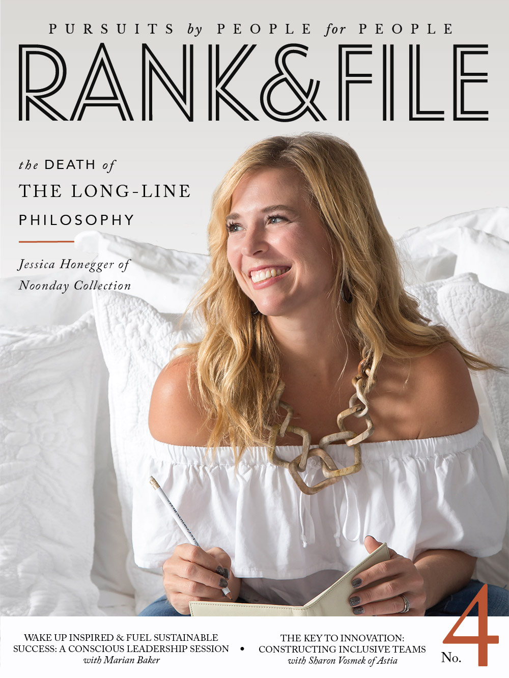 Kari Stinehour, Rank & File Magazine  Rank & File is a digital publication and community for modern-day social entrepreneurs who want to build and scale high-impact businesses capable of tackling the world's biggest challenges.